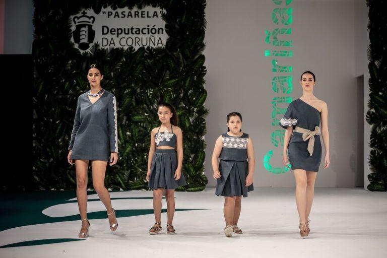Desfile da deseñadora de Camariñas María Campaña