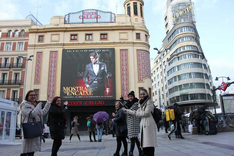 A XXX Mostra do Encaixe de Camariñas chega ao centro de Madrid