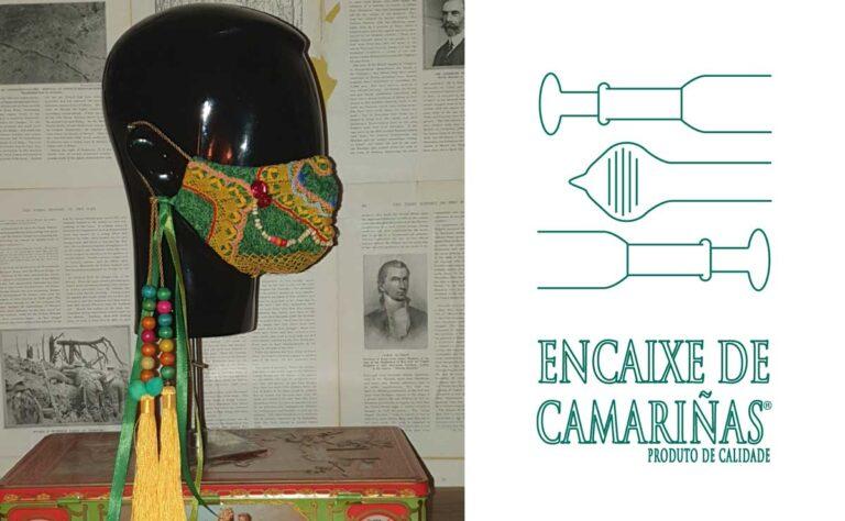 As palilleiras de Camariñas deseñan pezas de encaixe para aplicación nas máscaras
